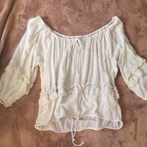Denim supply Ralph Lauren boho shirt small
